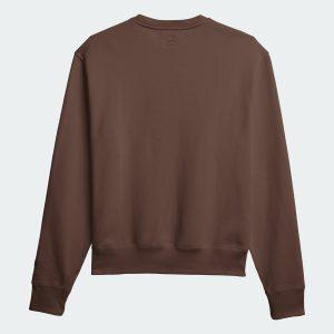 adidas Pharrell Williams Basics Crewneck Sweatshirt Earth Brown 1
