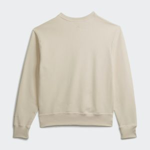 adidas Pharrell Williams Basics Crewneck Sweatshirt Ecru Tint 1