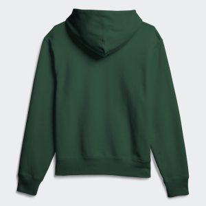 adidas Pharrell Williams Basics Hoodie Dark Green 1