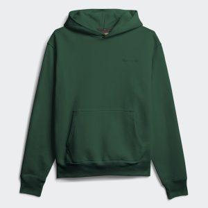 adidas Pharrell Williams Basics Hoodie Dark Green