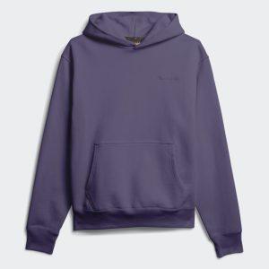 adidas Pharrell Williams Basics Hoodie Tech Purple