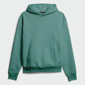 adidas Pharrell Williams Basics Hoodie True Green