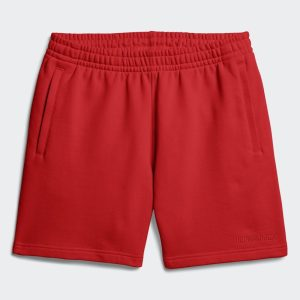 adidas Pharrell Williams Basics Sweat Shorts Active Red