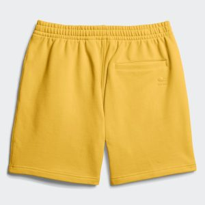 adidas Pharrell Williams Basics Sweat Shorts Bold Gold 1