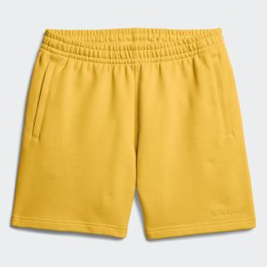 adidas Pharrell Williams Basics Sweat Shorts Bold Gold