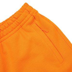 adidas Pharrell Williams Basics Sweat Shorts Bright Orange 1
