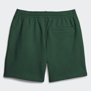 adidas Pharrell Williams Basics Sweat Shorts Dark Green 1