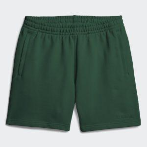 adidas Pharrell Williams Basics Sweat Shorts Dark Green