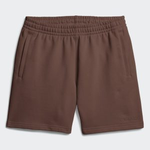 adidas Pharrell Williams Basics Sweat Shorts Earth Brown 1.1