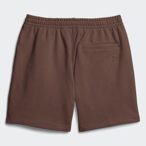 adidas Pharrell Williams Basics Sweat Shorts Earth Brown 1.2