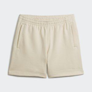 adidas Pharrell Williams Basics Sweat Shorts Ecru Tint