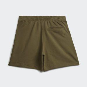adidas Pharrell Williams Basics Sweat Shorts Olive Cargo 1