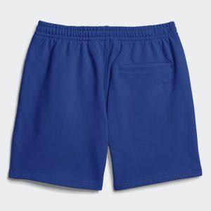 adidas Pharrell Williams Basics Sweat Shorts Power Blue 1