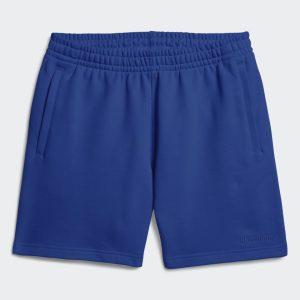 adidas Pharrell Williams Basics Sweat Shorts Power Blue