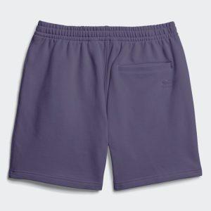 adidas Pharrell Williams Basics Sweat Shorts Tech Purple 1