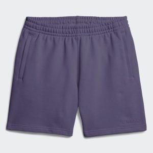adidas Pharrell Williams Basics Sweat Shorts Tech Purple