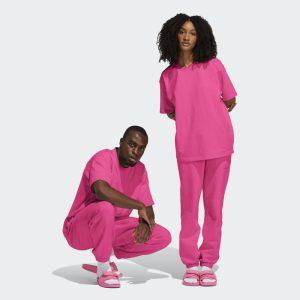 adidas Pharrell Williams Basics Tee Semi Solar Pink 1