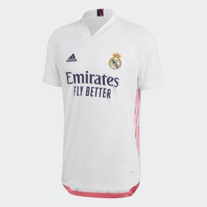 adidas Real Madrid Home Authentic Shirt Jersey White