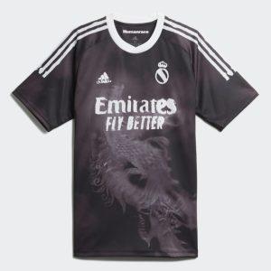 adidas Real Madrid Human Race Jersey BlackWhite