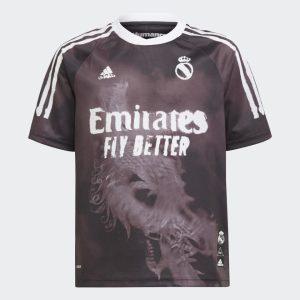 adidas Real Madrid Human Race Kids Jersey BlackWhite 5