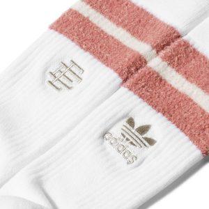 adidas x Eric Emanuel Socks White 1