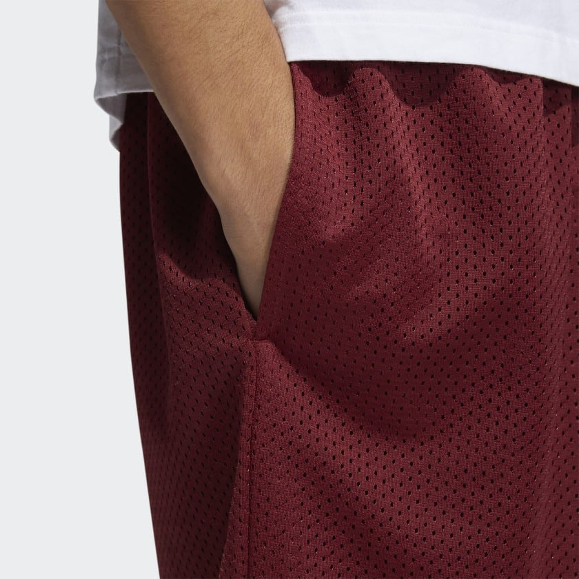 adidas x Jonah Hill BB Short Noble Maroon 4