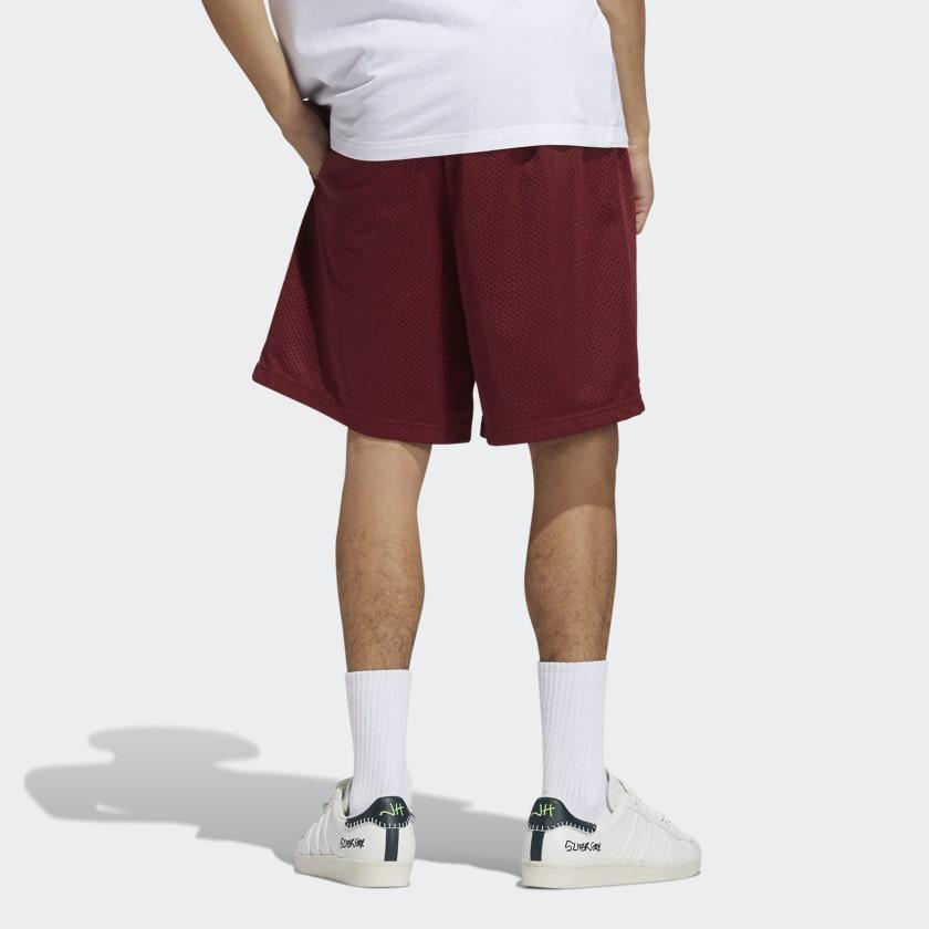 adidas x Jonah Hill BB Short Noble Maroon 6