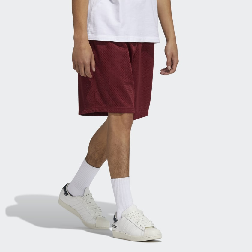 adidas x Jonah Hill BB Short Noble Maroon 7