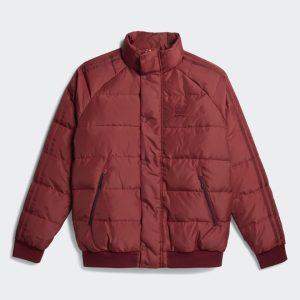adidas x Jonah Hill Puffer Jacket Noble Maroon