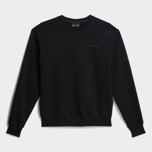 adidas x Pharrell Williams Basics Gender Neutral Crewneck Sweatshirt Black