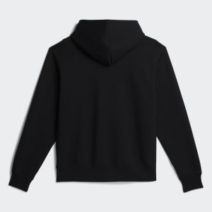 adidas x Pharrell Williams Basics Gender Neutral Hoodie Black 1