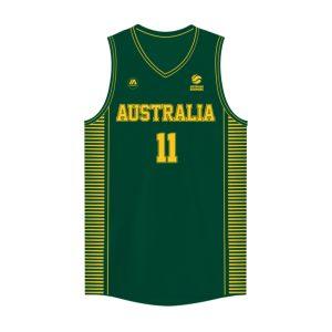 iAthletic Dante Exum Australian Boomers National Away Green Jersey