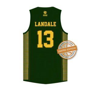 iAthletic Jock Landale Australian Boomers Olympics Commemorative Bronze Edition Jersey 1
