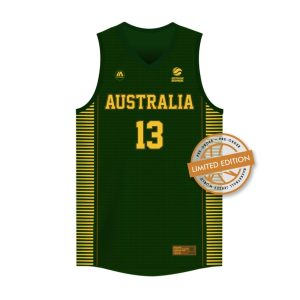 iAthletic Jock Landale Australian Boomers Olympics Commemorative Bronze Edition Jersey