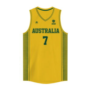 iAthletic Joe Ingles Australian Boomers National Home Gold Jersey