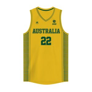 iAthletic Matisse Thybulle Australian Boomers National Home Gold Jersey