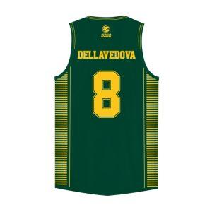 iAthletic Matthew Dellavedova Australian Boomers National Away Green Jersey 1