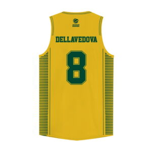 iAthletic Matthew Dellavedova Australian Boomers National Home Gold Jersey 1