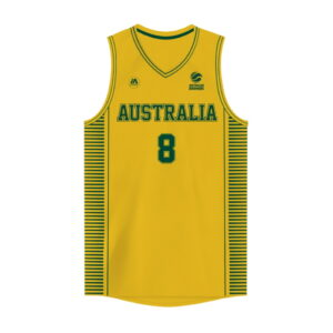 iAthletic Matthew Dellavedova Australian Boomers National Home Gold Jersey