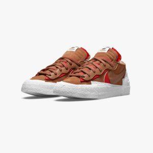 sacai x Nike Blazer Low British Tan 1