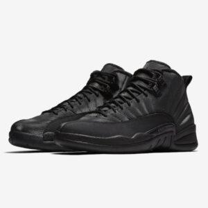 Air Jordan 12 Retro Winterized Triple Black 1