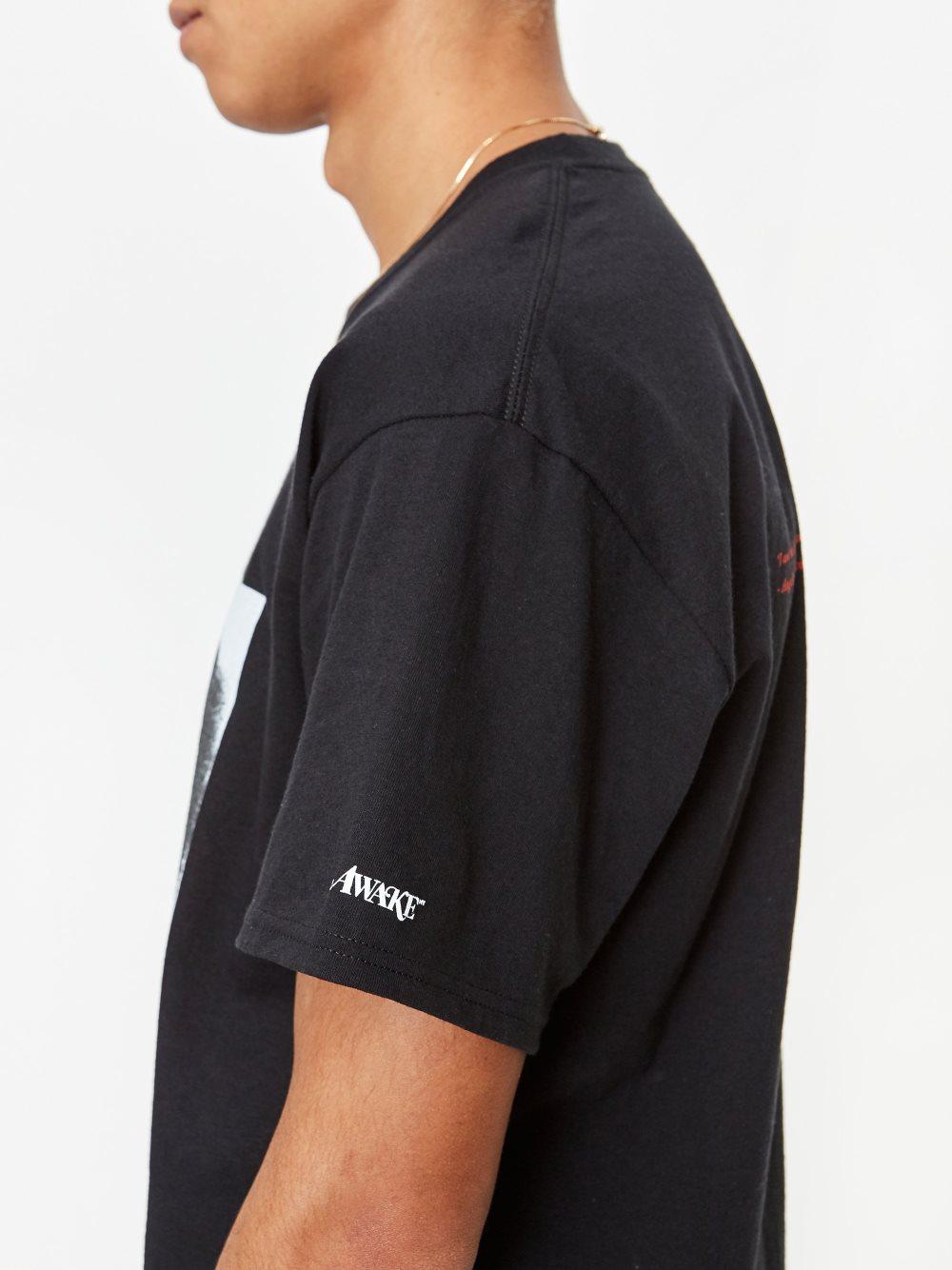 Awake Angela Davis T shirt Black 5