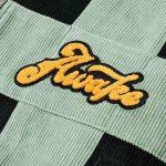 Awake Chenille Patch Corduroy Logo Jacket Green 2