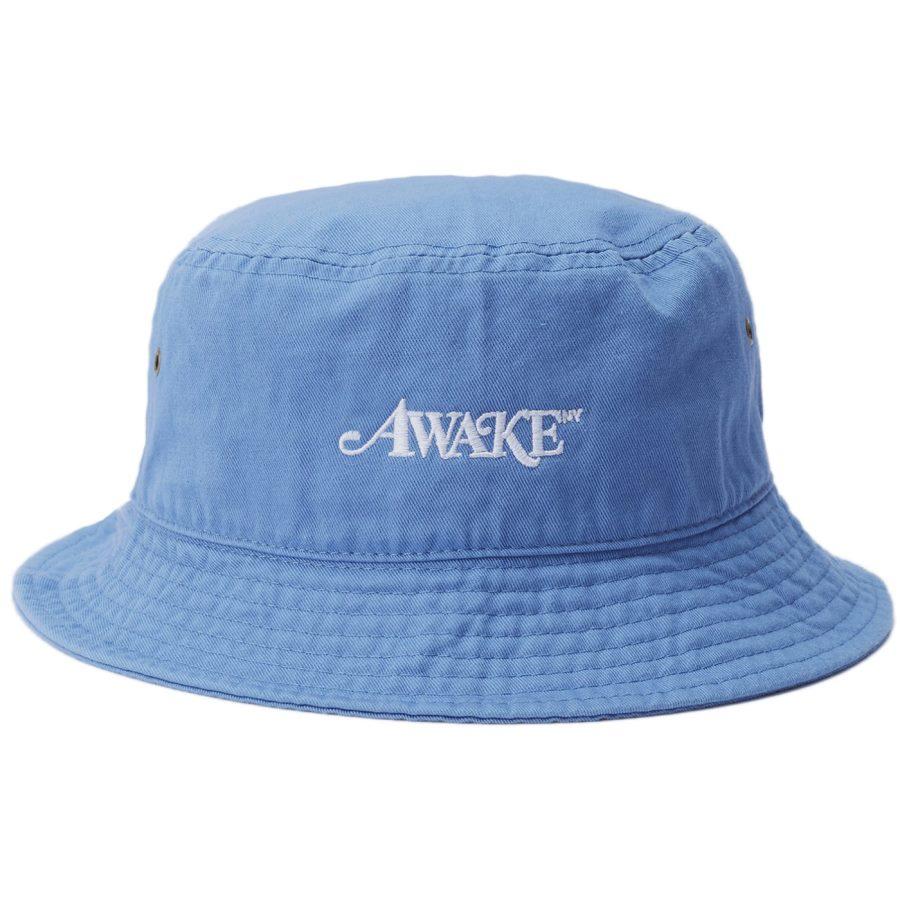 Awake Classic Logo Bucket Hat Blue