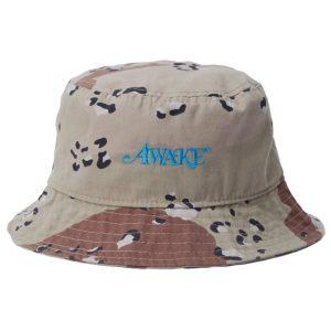Awake Classic Logo Bucket Hat Camo