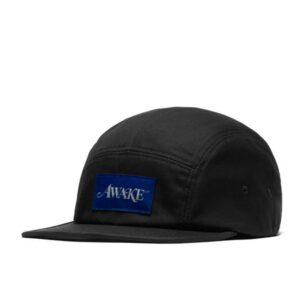 Awake Classic Logo Camp Cap Black