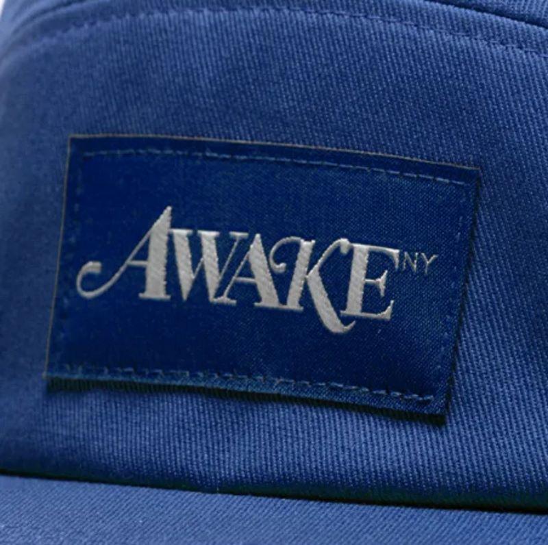 Awake Classic Logo Camp Cap Cobalt 4