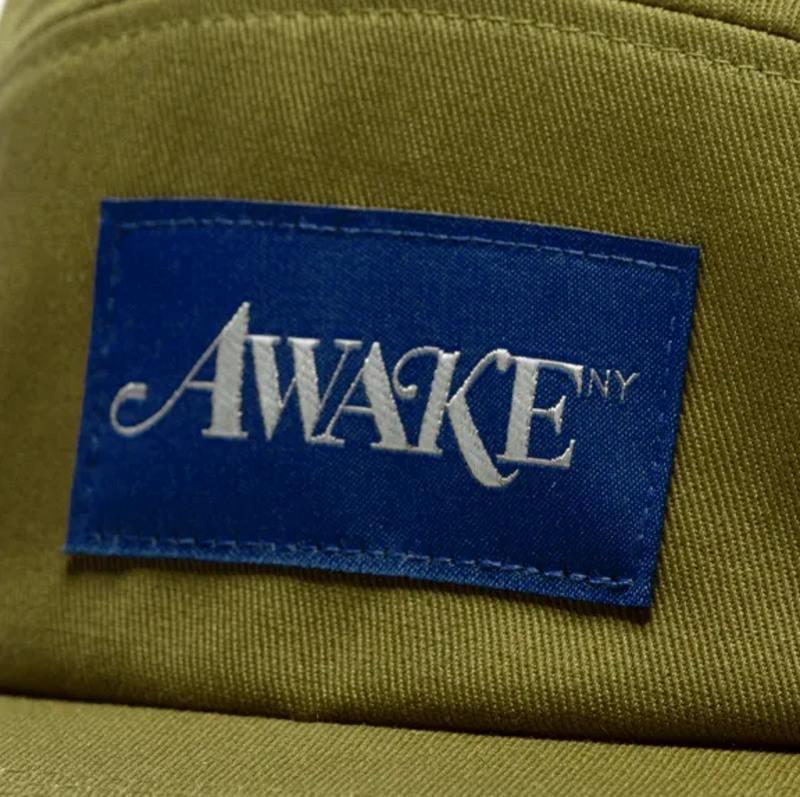 Awake Classic Logo Camp Cap Moss 3