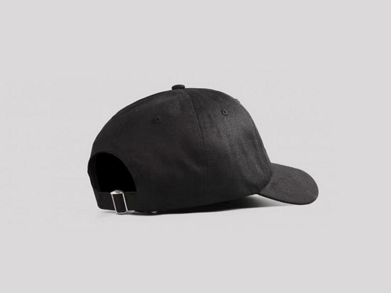 Awake Classic Logo Dad Hat Black 1