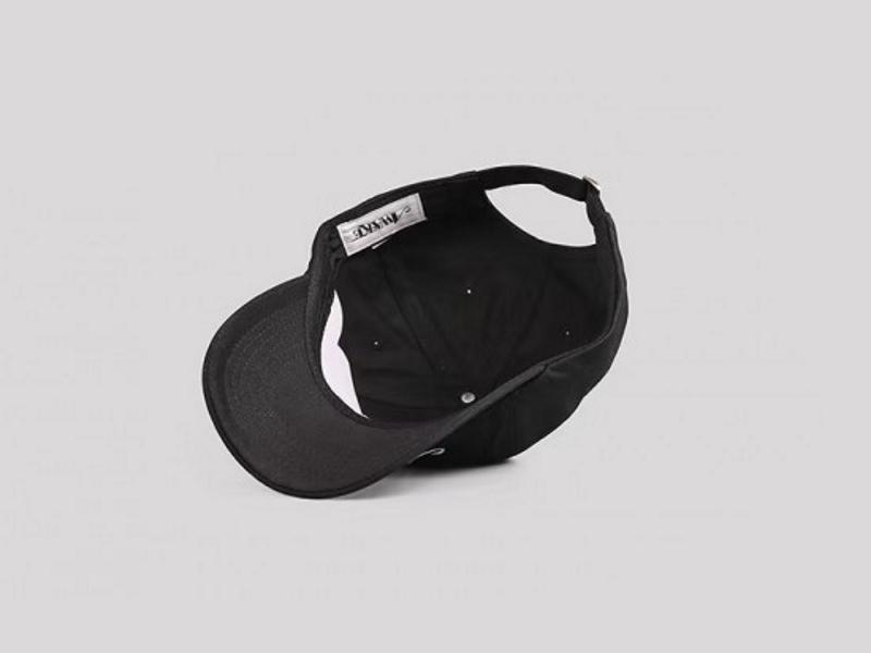 Awake Classic Logo Dad Hat Black 2
